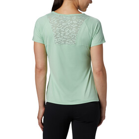 Columbia Peak To Point II T-shirt Femme, new mint heather
